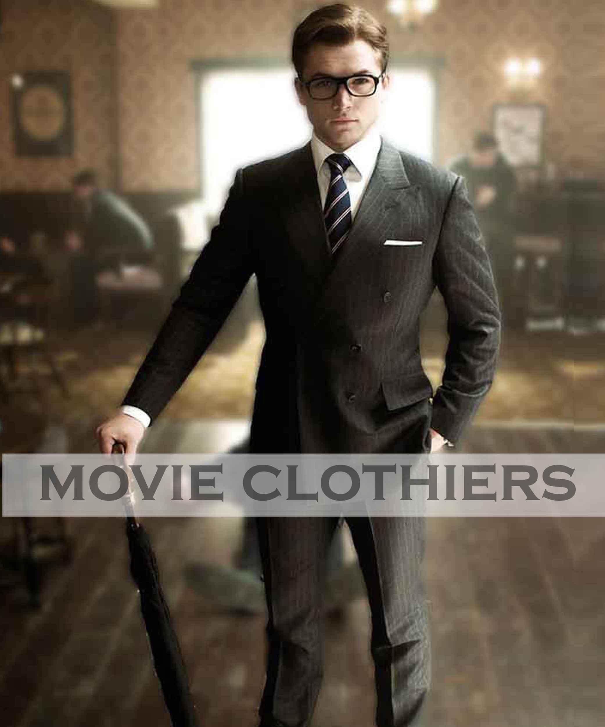 Kingsman Taron Egerton Suit