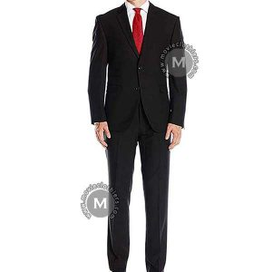black agent 47 hitman suit