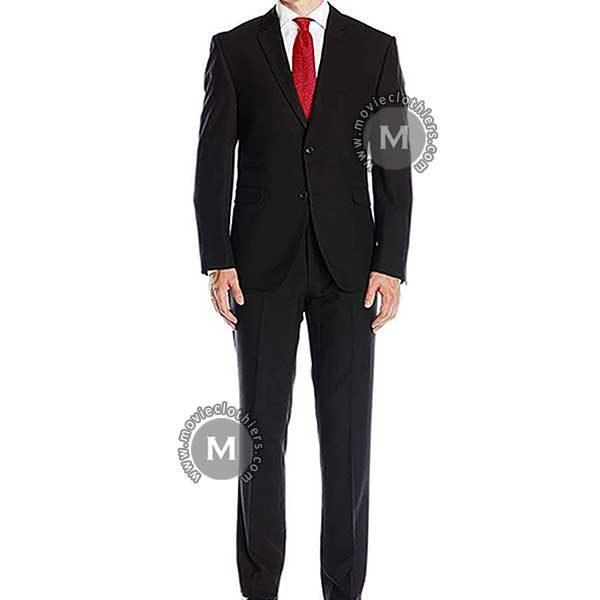black agent 47 hitman suit