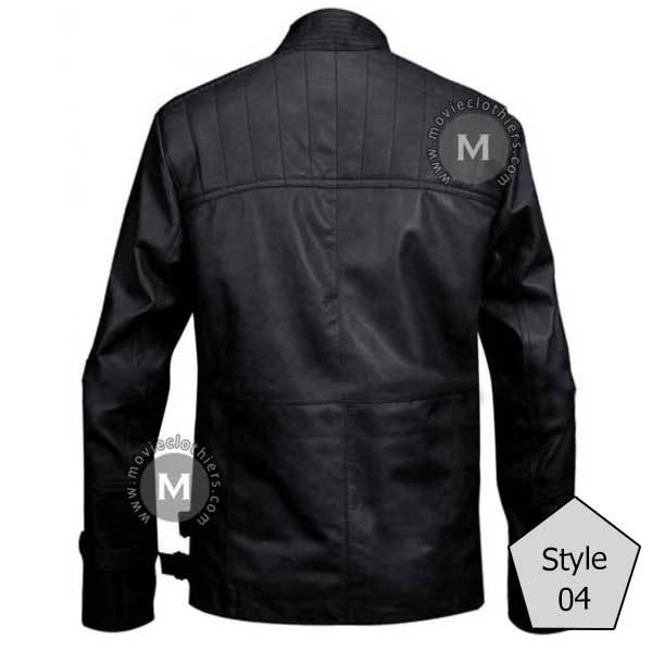 black star wars poe dameron jacket