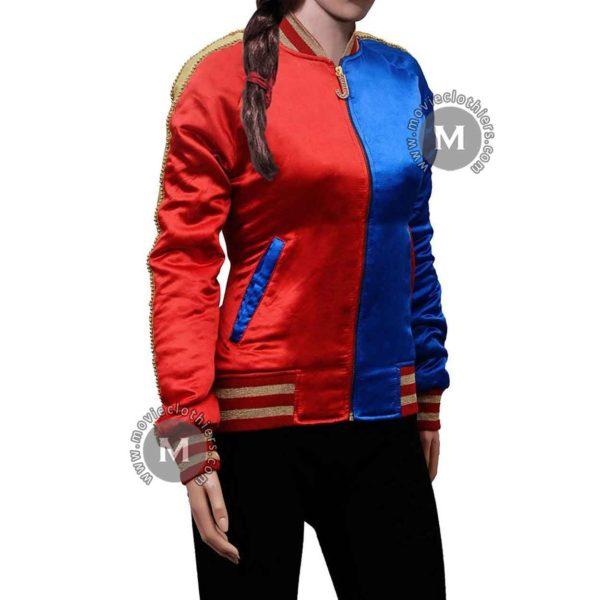 girls harley quinn jacket costume