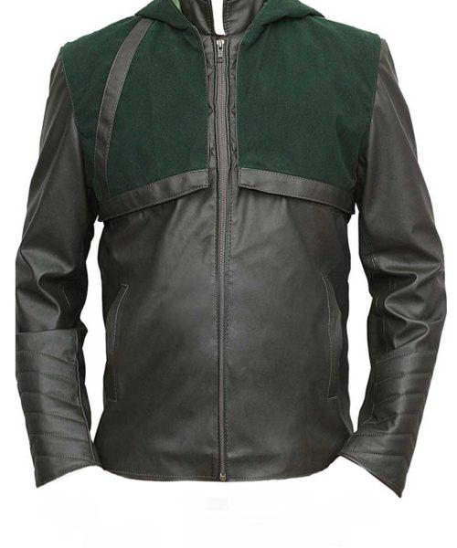 green arrow jacket