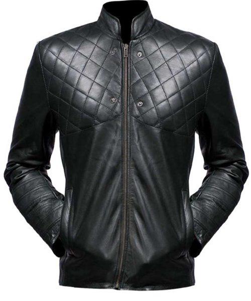 green arrow leather jacket