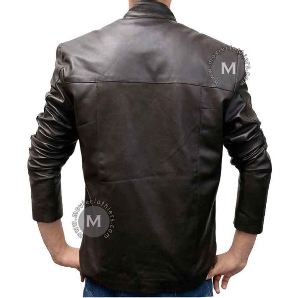 han solo brown leather jacket