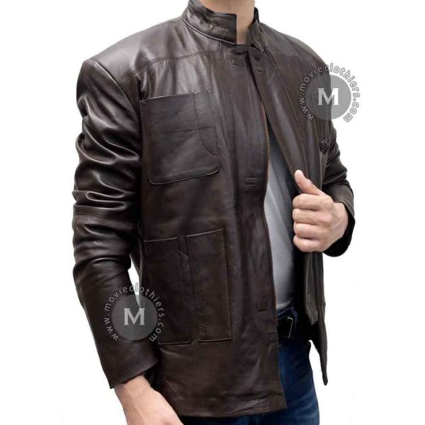han solo jacket force awakens