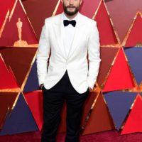 jamie dornan White Oscar tuxedo