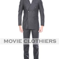 kingsman 2 clothing pinstripe Agent Tequila suit