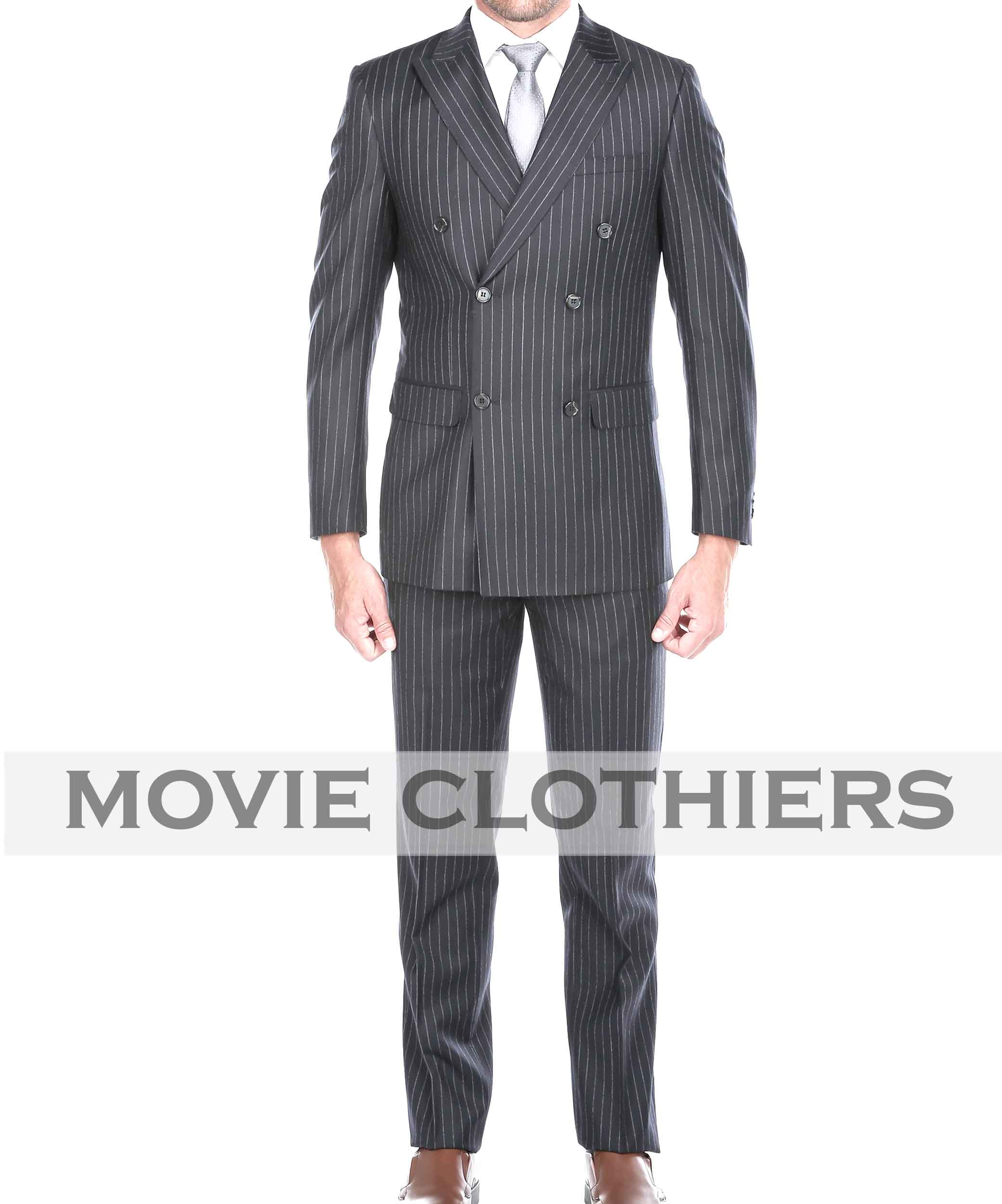kingsman 2 clothing pinstripe Agent Tequila suit