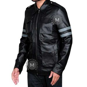 motorcycle leon's jacket re6