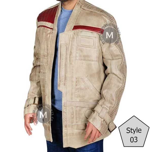 poe dameron finn jacket