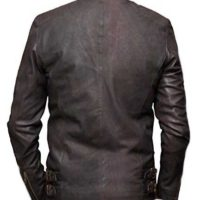 steve rogers brown leather jacket