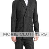 taron egerton kingsmen 2 charcoal pinstripe suit