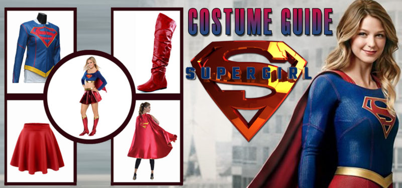 supergirl costume guide