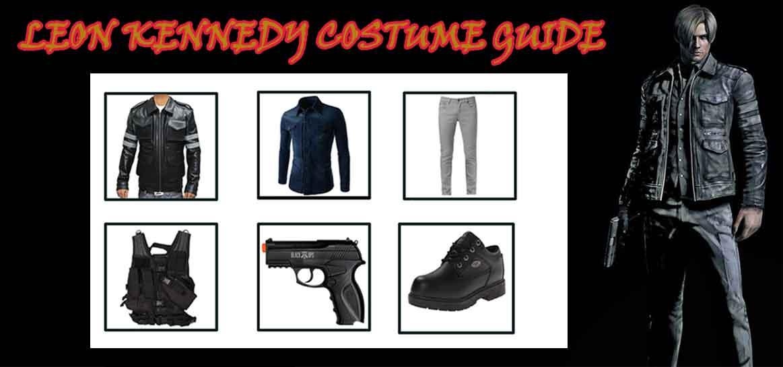 Leon Kennedy Resident Evil Costume Guide For Gamers