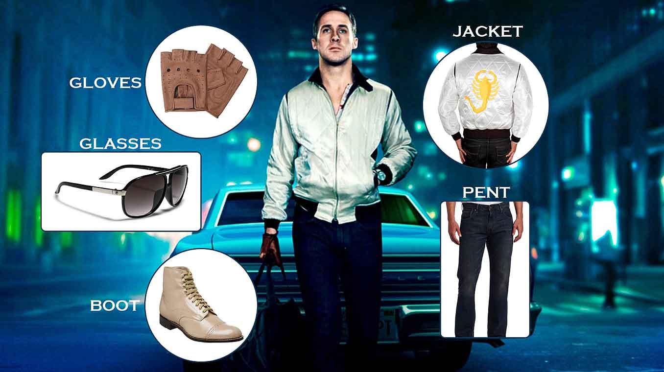 Ryan Gosling Drive Costume Guide How To Dress Like Ryan Gosling