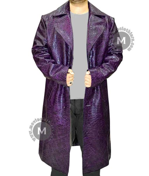 Suicide Squad purple joker jacket