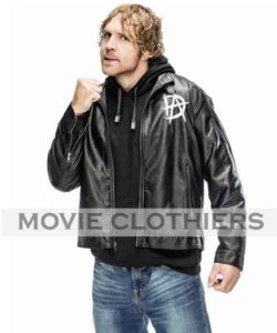 WWE leather jackets dean grey leather jackets