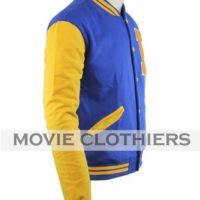 archie riverdale jacket blue and yellow varsity jacket