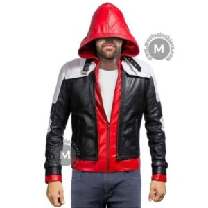arkham knight red hood jacket