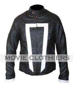 biker ghost rider leather jacket