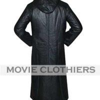 buy black organization 13 trench coat