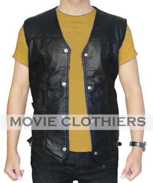 daryl dixon leather vest for sale