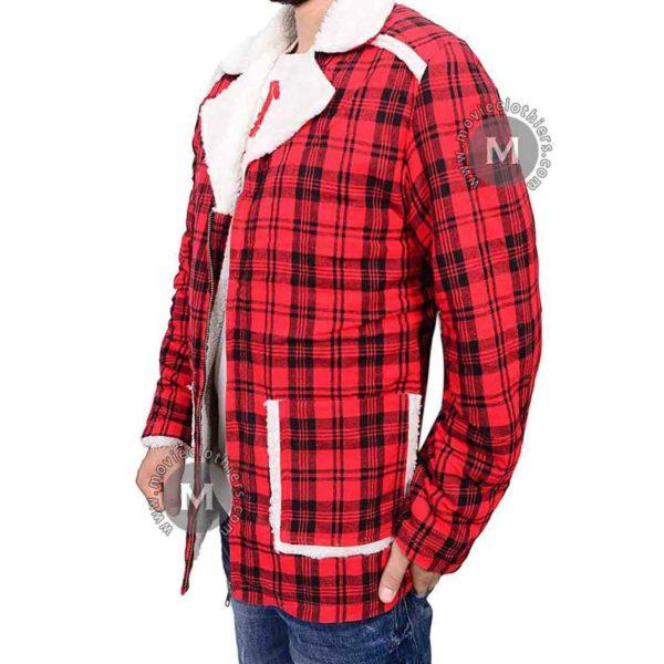 deadpool shearling jacket