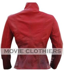 red scarlet witch jacket coat