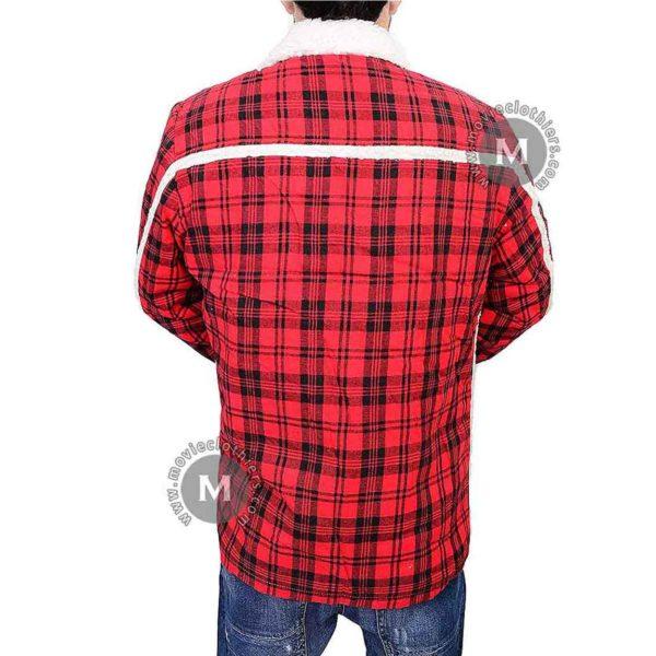 ryan renolds deadpool flannel jacket