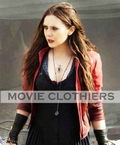 scarlet witch elizabeth olsen jacket cosplay