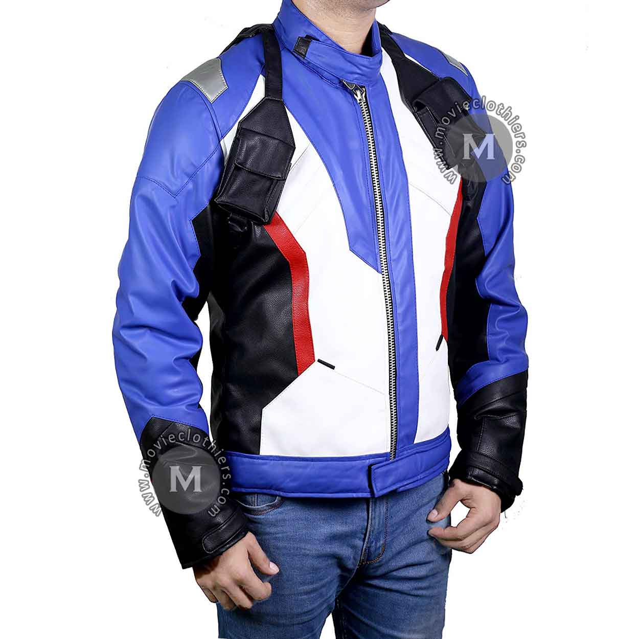 soldier 76 jacket leather