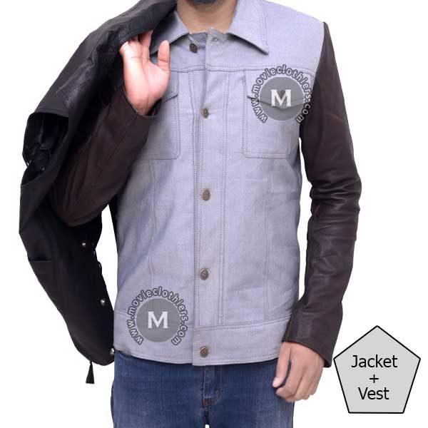 walking dead daryl leather jacket