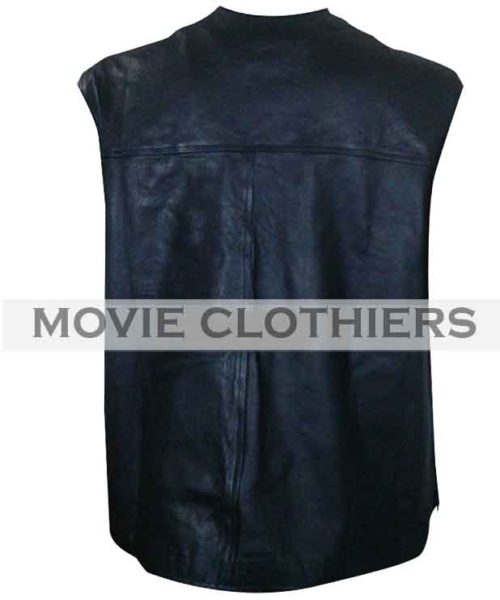 Smoking Skull 316 steve austin leather vest