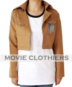 attack on titan scout regiment jacket corps jacket