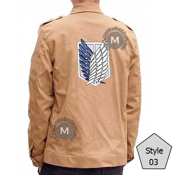 attack on titan uniform jacket