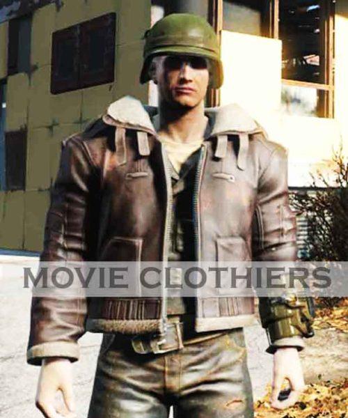 brotherhood of steel officer uniform pilot jacket