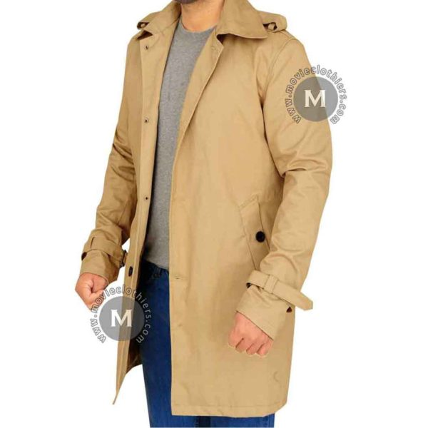 brown constantine coat