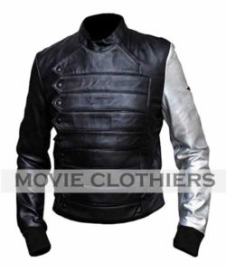 bucky barnes leather vest winter soldier bucky barnes jacket
