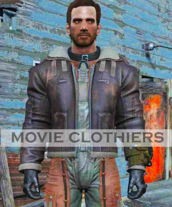 fallout 4 bomber jacket bos officer uniform outfit suit
