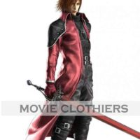genesis ff7 red trench coat