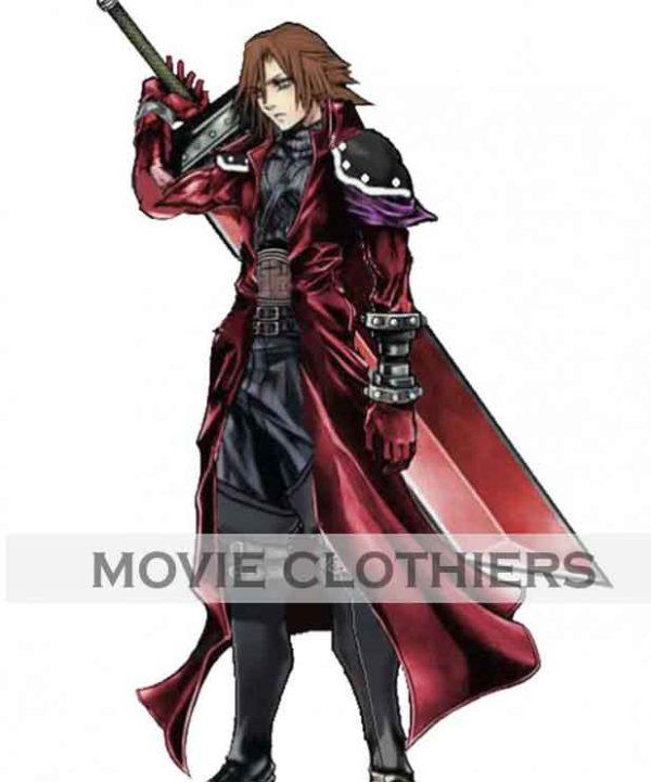 genesis rhapsodos red leather coat