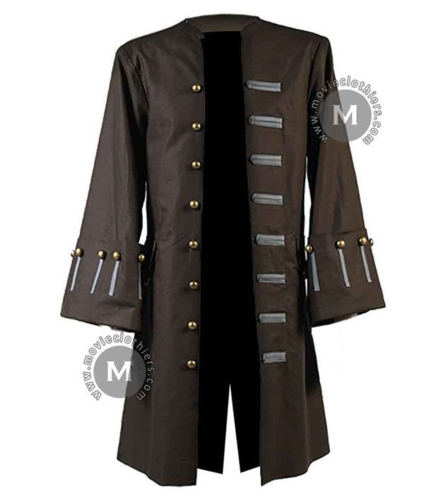 jack sparrow pirate frock coat
