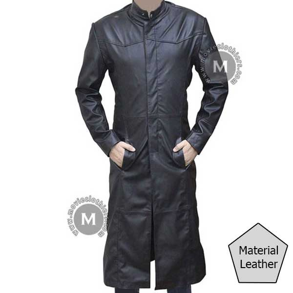 matrix trench coat