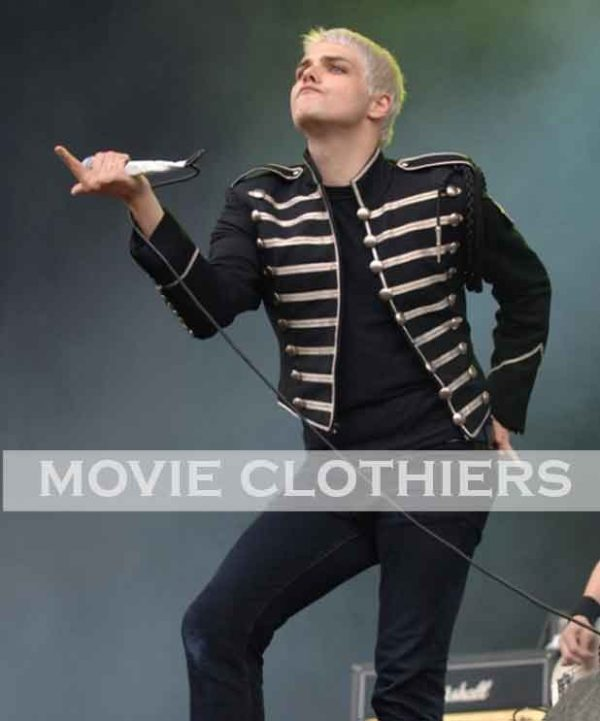 my chemical romance welcome to the black parade jacket