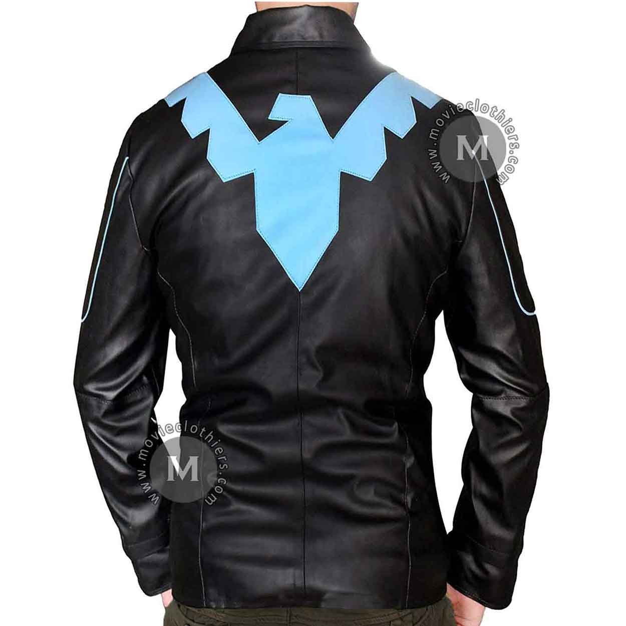 Batman Nightwing Leather Jacket For Sale-8463