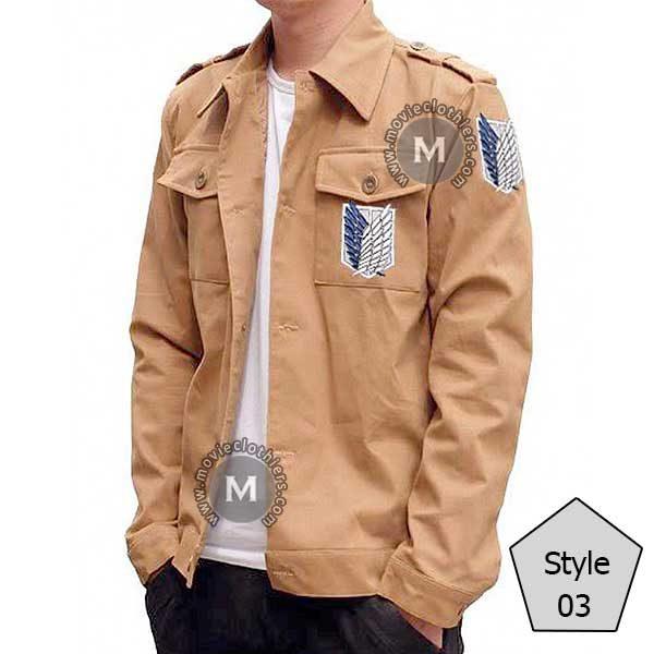 titan scout regiment jacket