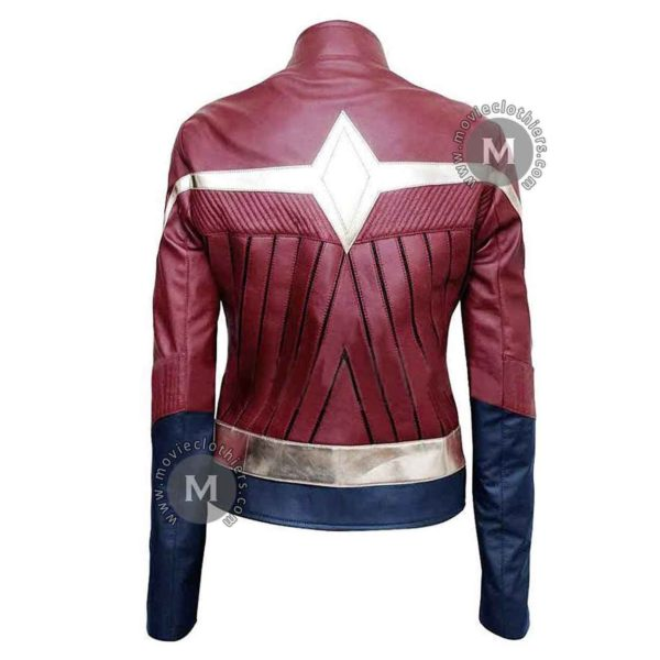 wonder woman biker jacket