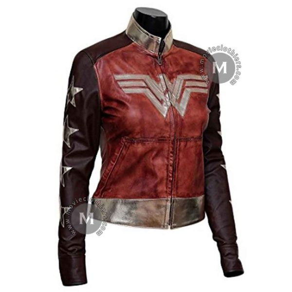 wonder woman jacket costume