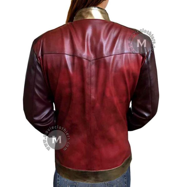 wonder woman jacket leather