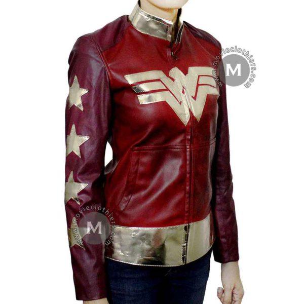 wonder woman motorcycle jacket